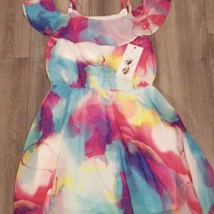 NWT Children's Place Off the Shoulder Dress